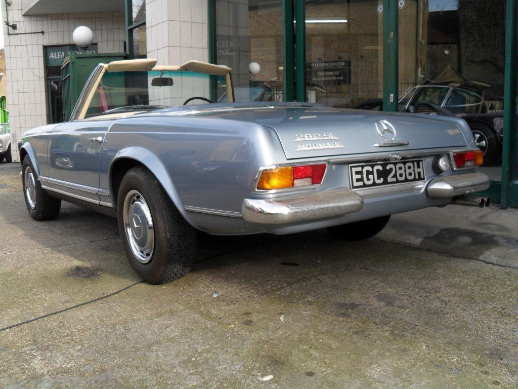 1969 Mercedes Benz 280SL Pagoda For Sale (picture 2 of 5)