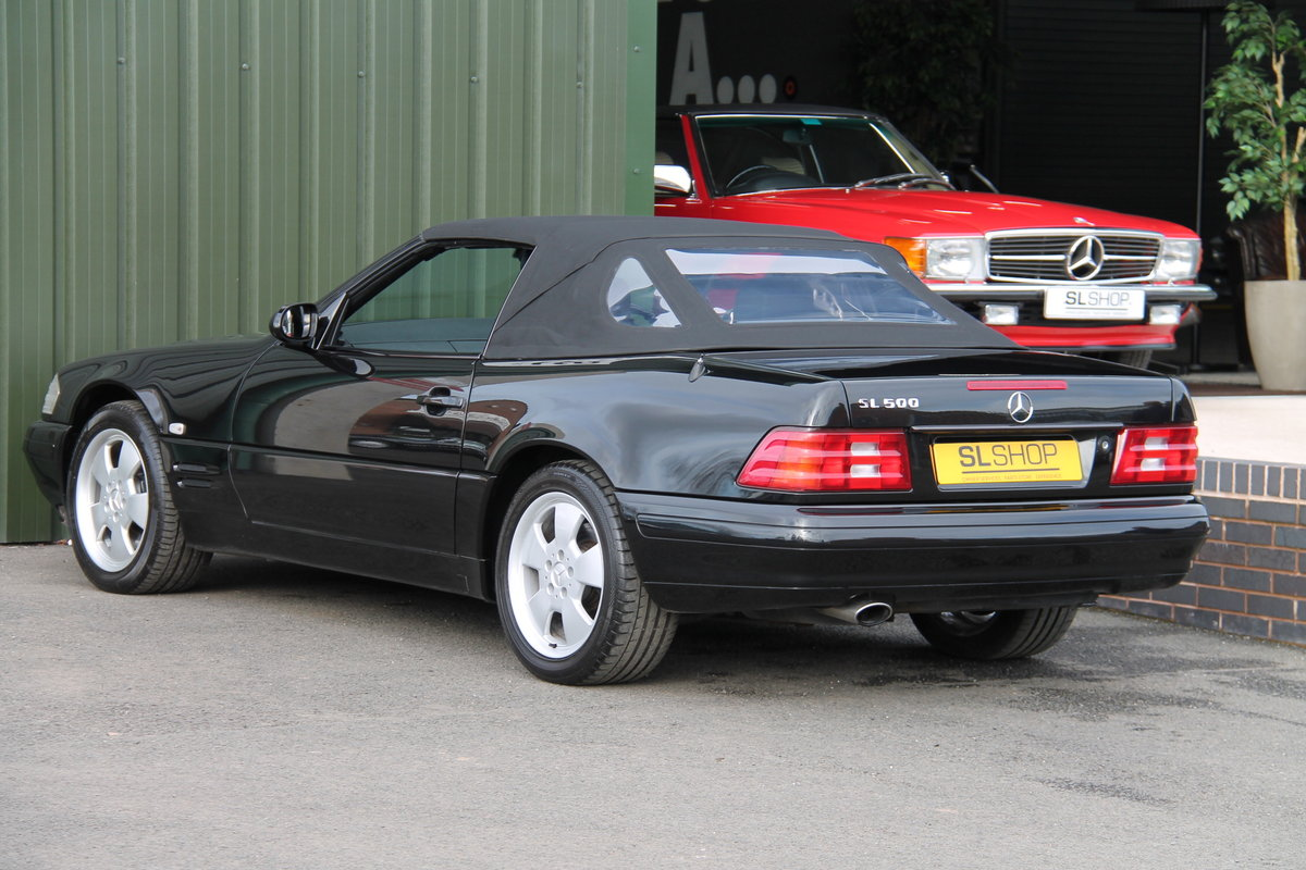 2001 MERCEDES-BENZ SL 500 | STOCK #2072 For Sale (picture 5 of 6)