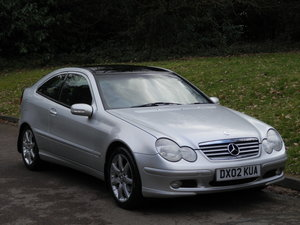 2002 Mercedes C200 Kompressor Evolution.. Low Miles.. Hi Spec.. SOLD