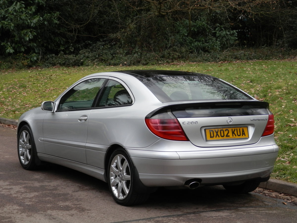 2002 Mercedes C200 Kompressor Evolution.. Low Miles.. Hi Spec.. SOLD (picture 6 of 6)