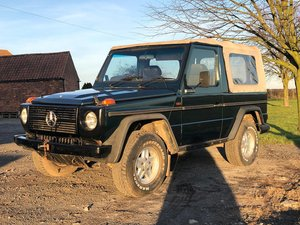 1986 Mercedes g wagon 280ge cabrio convertible  For Sale