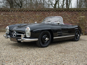 1961 Mercedes Benz 300SL Roadster factory fitted disc brakes