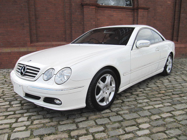 2003 MERCEDES-BENZ CL500 STUNNING 5.0 COUPE * FRESH IMPORT  SOLD (picture 1 of 6)