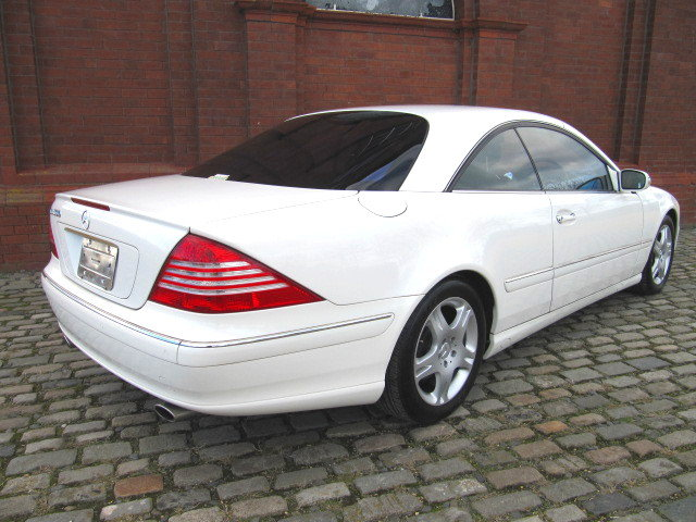 2003 MERCEDES-BENZ CL500 STUNNING 5.0 COUPE * FRESH IMPORT  SOLD (picture 2 of 6)
