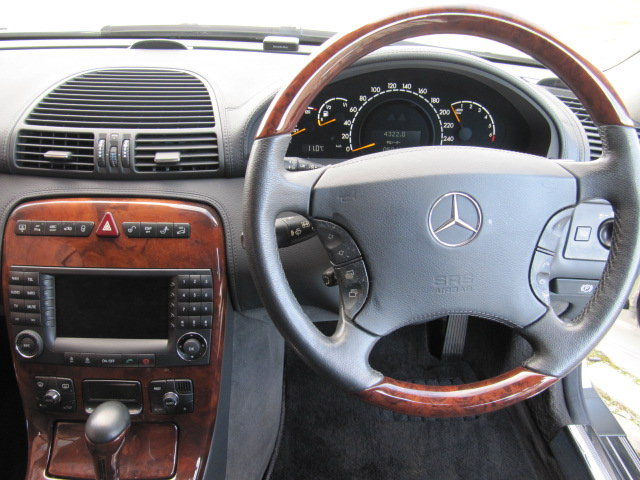 2003 MERCEDES-BENZ CL500 STUNNING 5.0 COUPE * FRESH IMPORT  SOLD (picture 5 of 6)