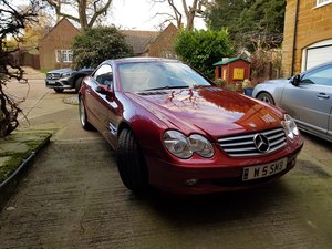 2005 Mercedes SL350 only 27100 miles FMBSH For Sale