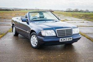 1996 Mercedes-Benz E220 Cabriolet - Sportline - 95K Miles SOLD