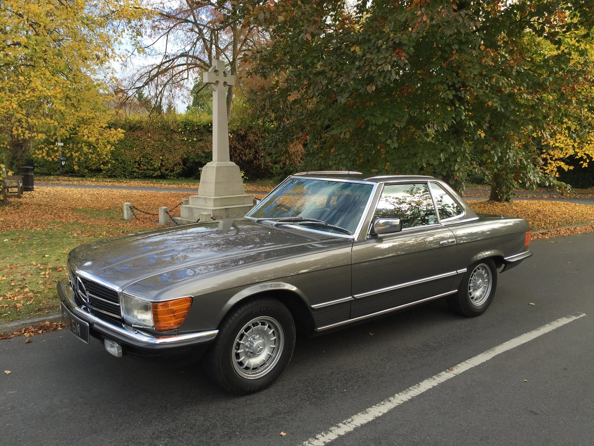 1984 Superb 280SL Mercedes For Sale (picture 1 of 6)