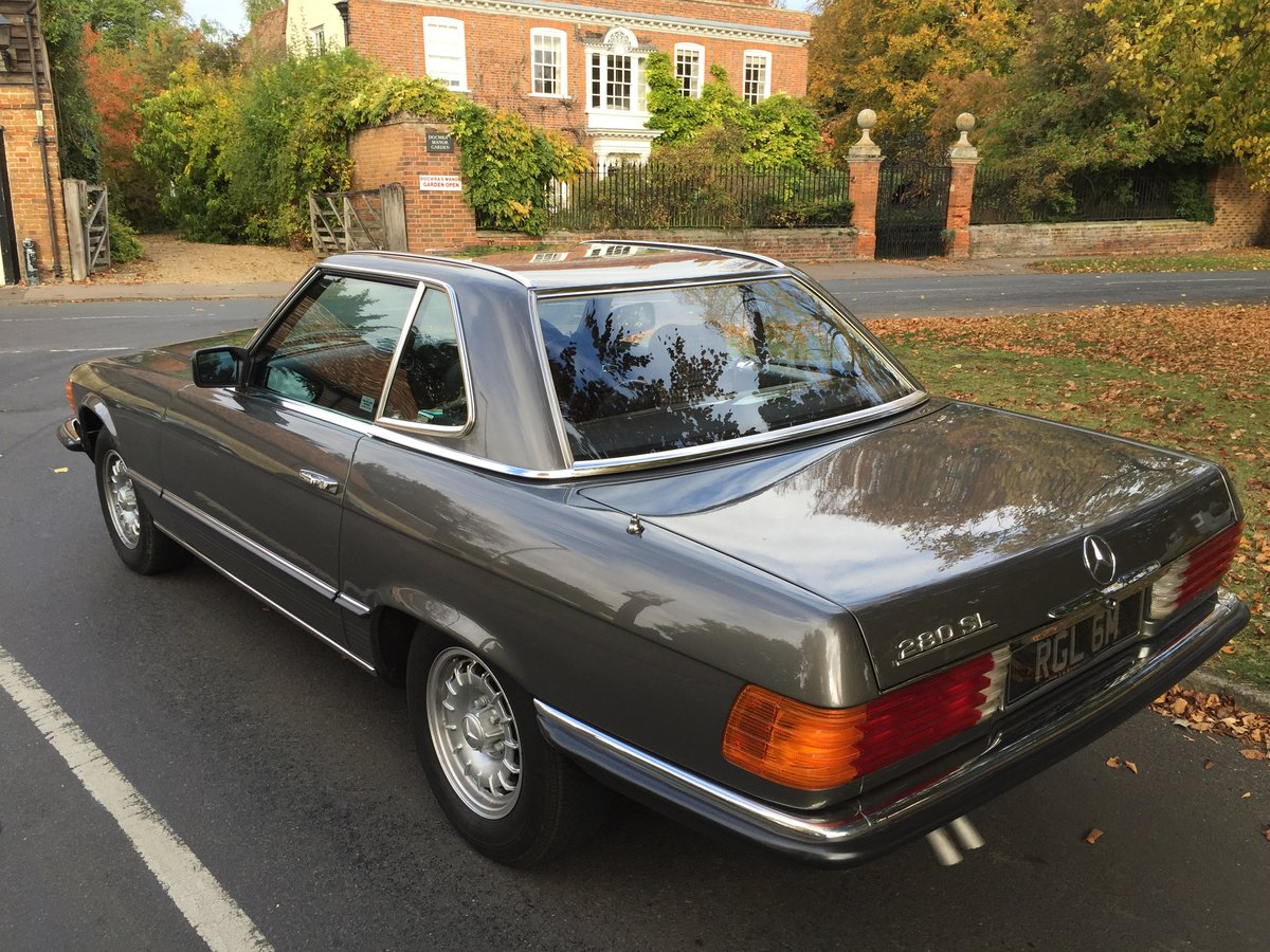 1984 Superb 280SL Mercedes For Sale (picture 2 of 6)