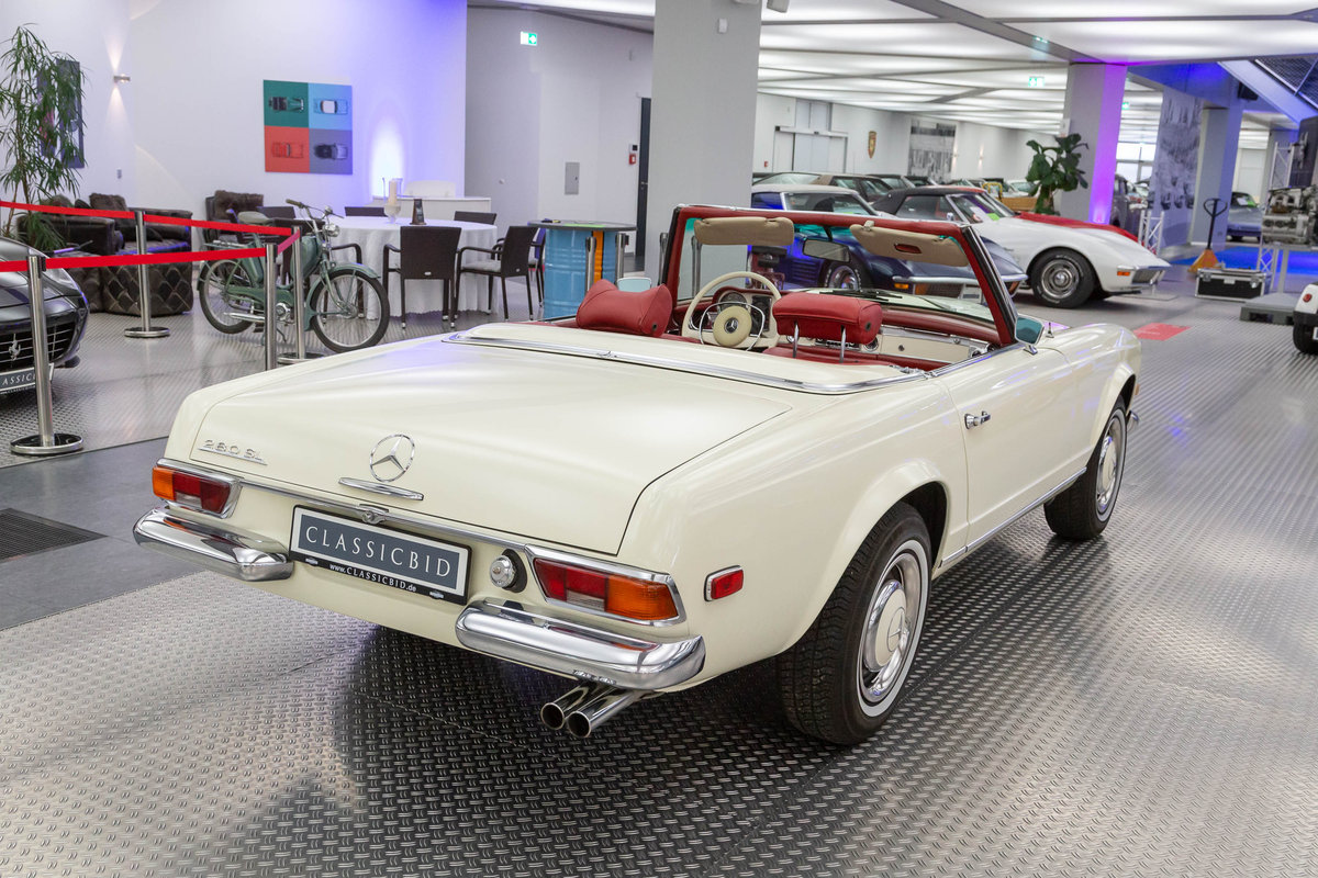 1970 Mercedes 280 SL Pagoda  For Sale (picture 4 of 6)