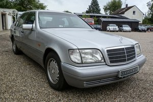 1995 Mercedes S 320 *9 march* RETRO CLASSICS  SOLD by Auction