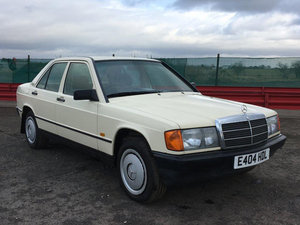 1988 Mercedes 190 Auto For Sale by Auction 23rd February  SOLD by Auction