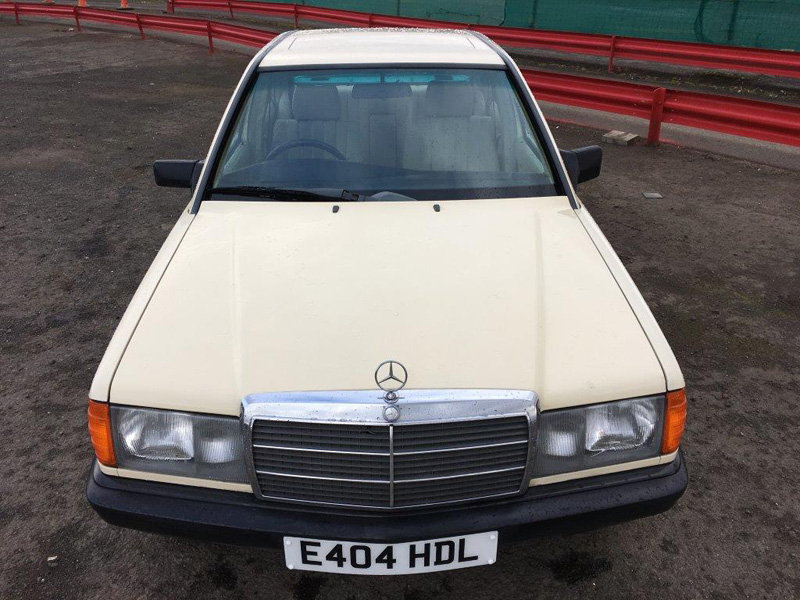 1988 Mercedes 190 Auto For Sale by Auction 23rd February  SOLD by Auction (picture 2 of 6)