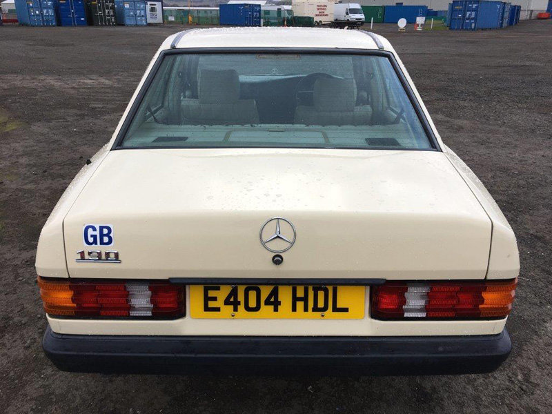 1988 Mercedes 190 Auto For Sale by Auction 23rd February  SOLD by Auction (picture 3 of 6)