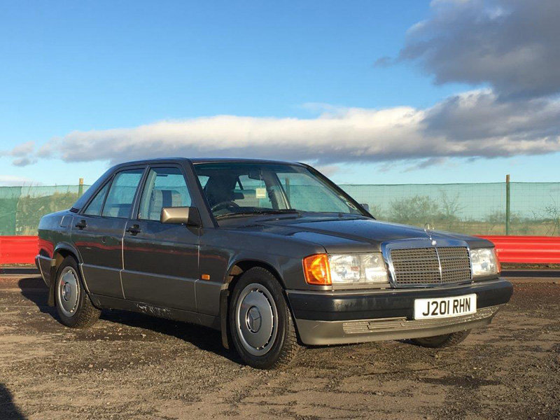 1991 Mercedes 190E Auto For Sale by Auction 23rd February SOLD by Auction (picture 1 of 6)