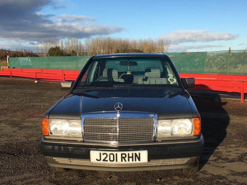 1991 Mercedes 190E Auto For Sale by Auction 23rd February SOLD by Auction (picture 2 of 6)