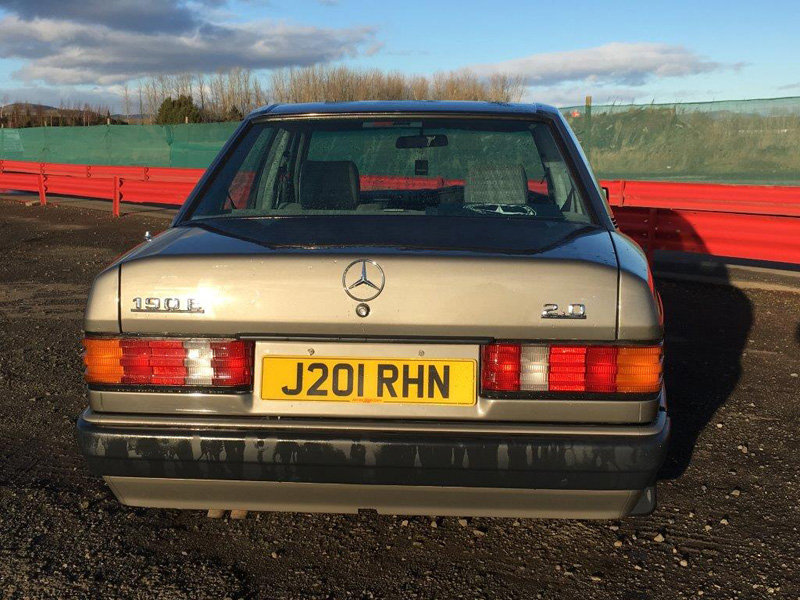 1991 Mercedes 190E Auto For Sale by Auction 23rd February SOLD by Auction (picture 3 of 6)