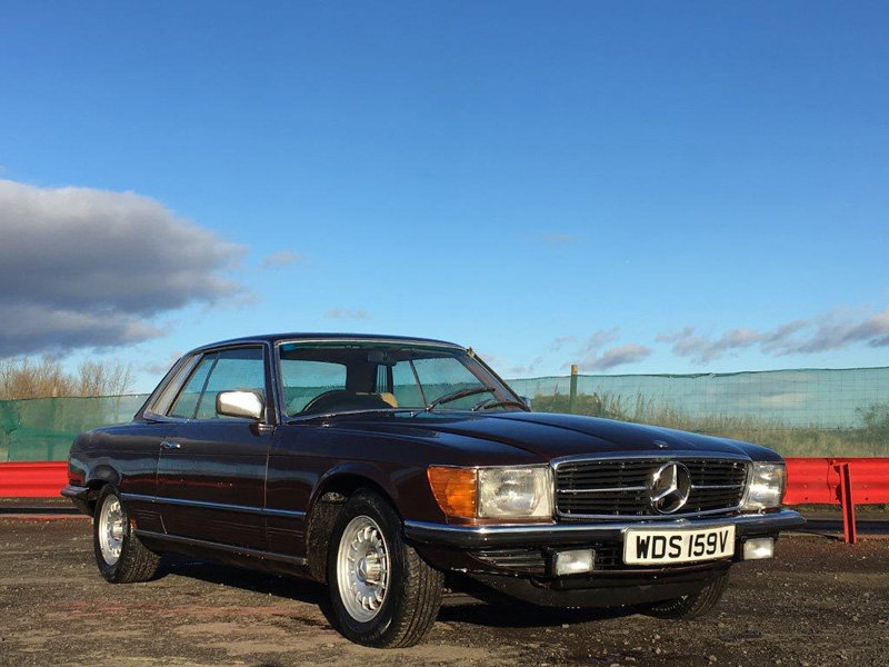 1980 Mercedes 450 SLC at Morris Leslie Classic Auction 25th May For Sale by Auction (picture 1 of 6)