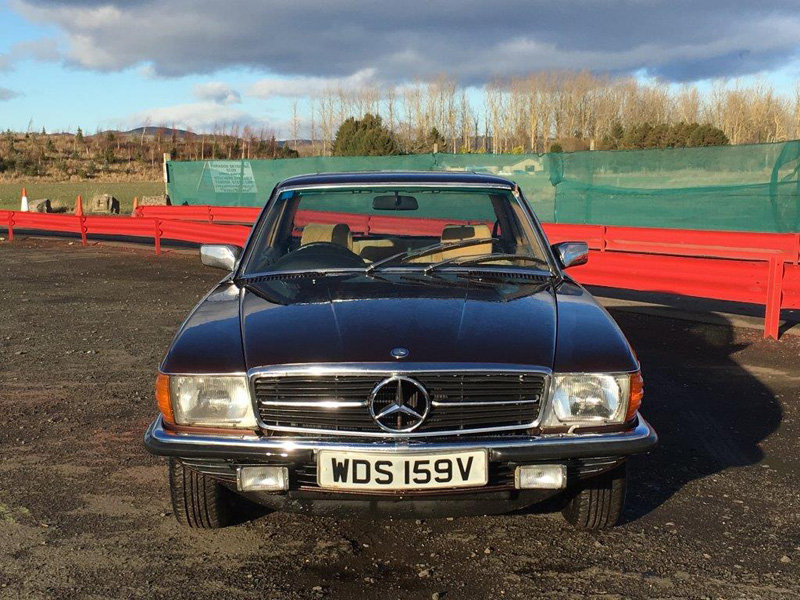 1980 Mercedes 450 SLC at Morris Leslie Classic Auction 25th May For Sale by Auction (picture 2 of 6)