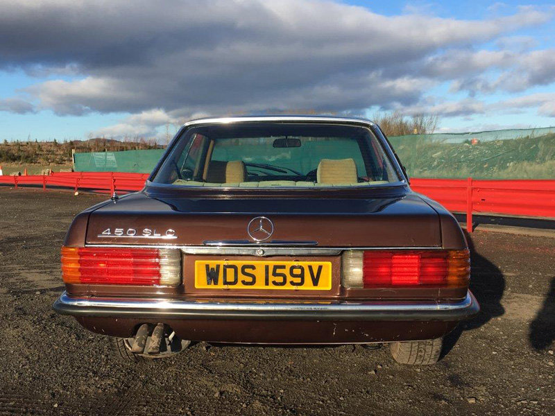 1980 Mercedes 450 SLC at Morris Leslie Classic Auction 25th May For Sale by Auction (picture 3 of 6)