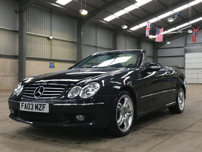2003 Mercedes CLK 55 AMG Auto For Sale by Auction 23rd February SOLD by Auction (picture 2 of 6)