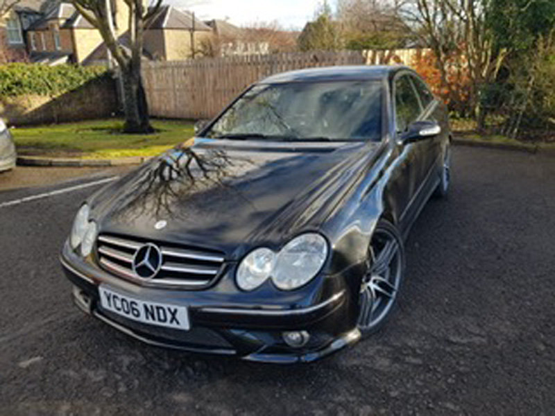 2006 Mercedes CLK500 Sport Auto For Sale by Auction 23rd Feb SOLD by Auction (picture 1 of 2)