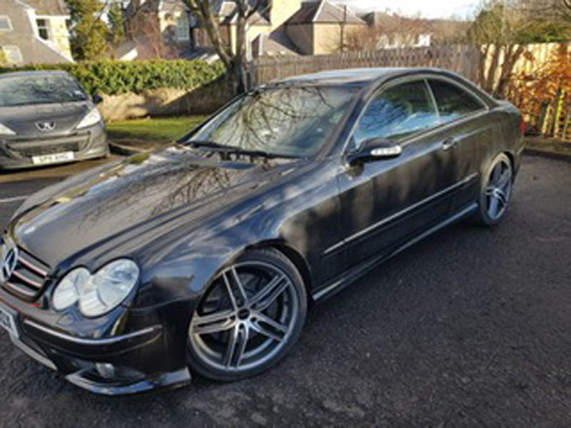 2006 Mercedes CLK500 Sport Auto For Sale by Auction 23rd Feb SOLD by Auction (picture 2 of 2)