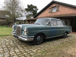 1963 Mercedes Benz W111 220S Fintail For Sale