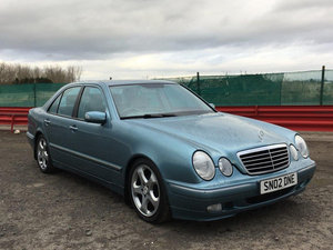 2002 Mercedes E320 CDI Avantgarde at Morris Leslie 25th May For Sale by Auction