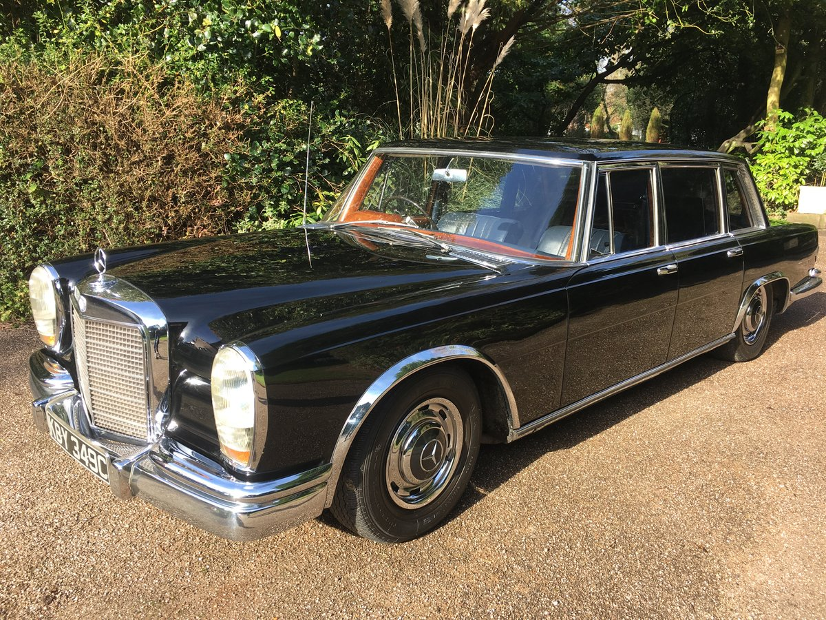 1965 Mercedes Benz 600 SWB RHD For Sale (picture 3 of 6)