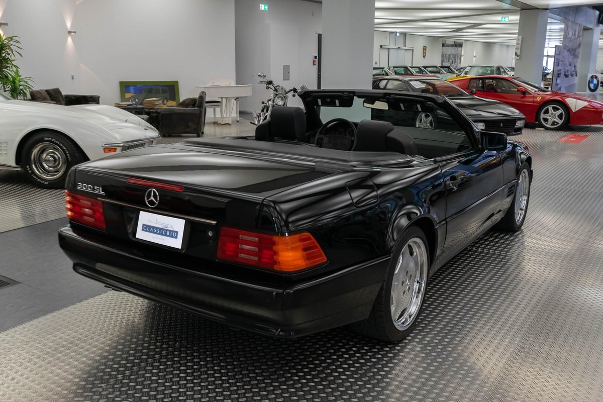 1991 Mercedes 300 SL-24 (R129)  For Sale (picture 4 of 6)