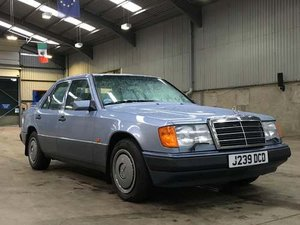 1992 Mercedes 260E Auto at Morris Leslie Auction SOLD by Auction