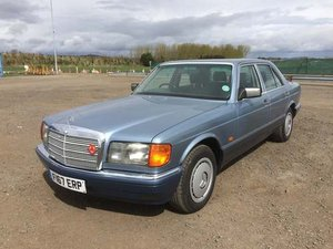 1989 Mercedes 260SE at Morris Leslie Auction SOLD by Auction