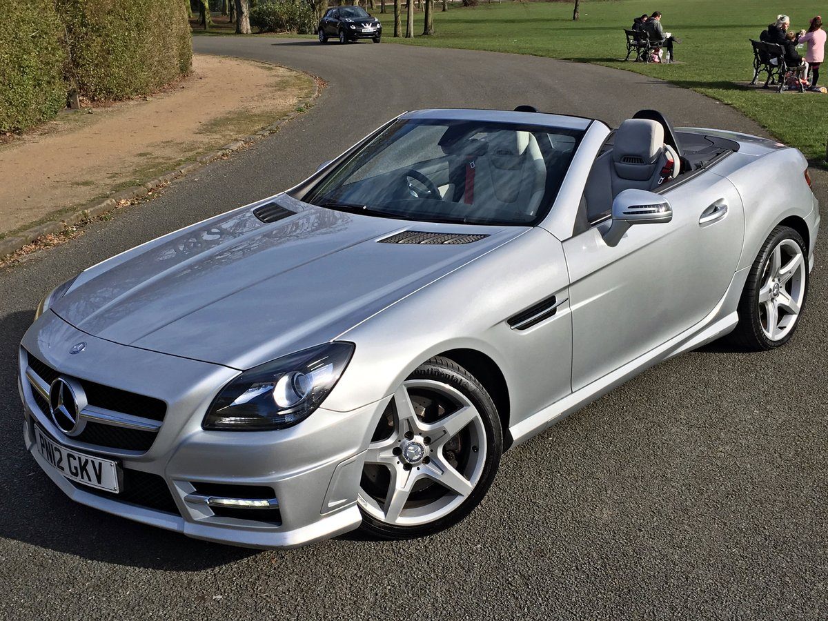 2012 Mercedes SLK 250 AMG SPORT Petrol Automatic For Sale (picture 1 of 6)