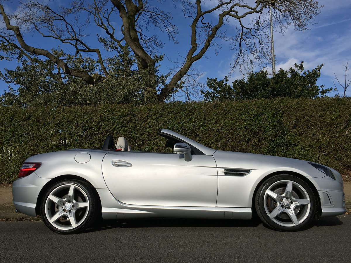 2012 Mercedes SLK 250 AMG SPORT Petrol Automatic For Sale (picture 2 of 6)