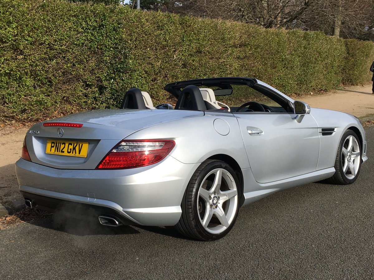 2012 Mercedes SLK 250 AMG SPORT Petrol Automatic For Sale (picture 3 of 6)
