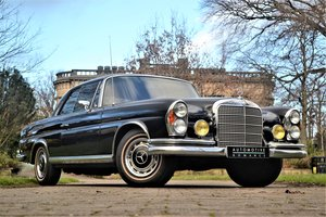 1969 W111 1968 Mercedes-Benz 280SE Coupe