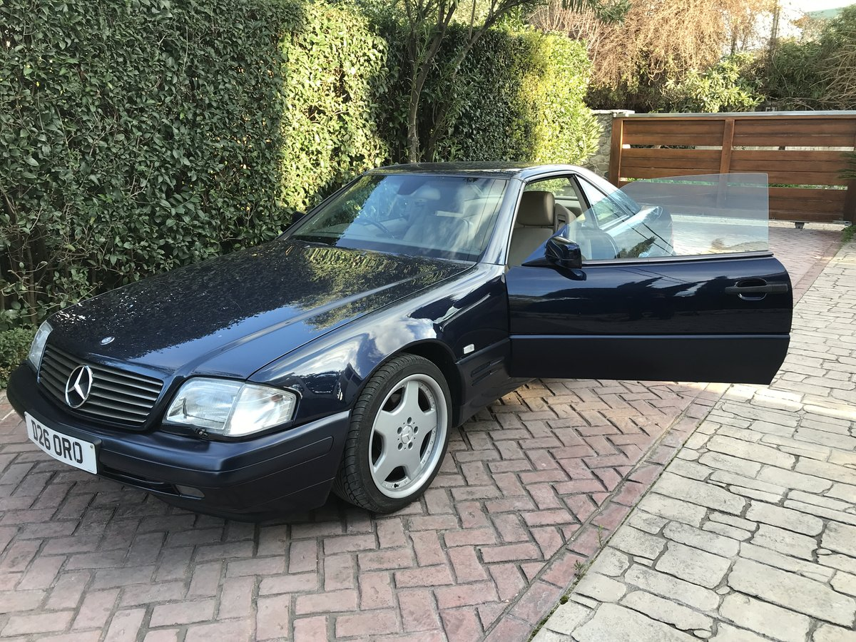 Mercedes sl 320 amg facelift 1996 For Sale (picture 5 of 6)