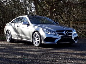 2013 2014 M/Y MERCEDES E350 AMG Sport Coupe. 41k Miles  SOLD