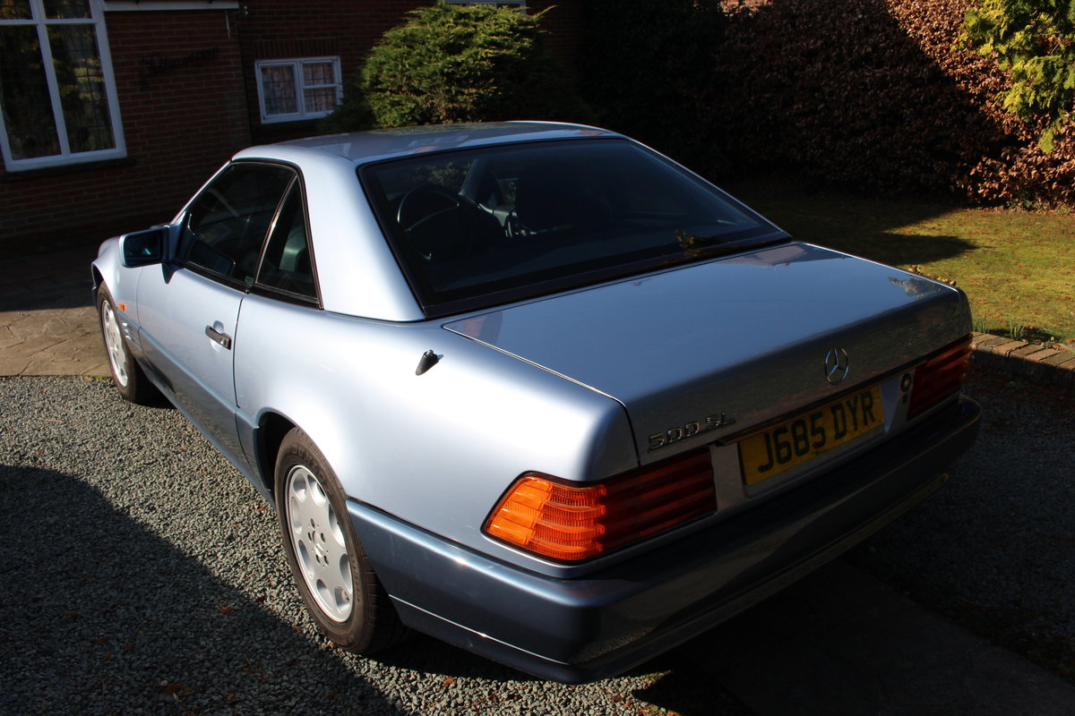 1991 R129 500SL, 42k miles, Superb Condition For Sale (picture 6 of 6)
