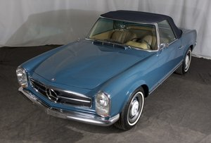 1967  Mercedes 250 SL = Pagoda Convertible Auto low miles $59.5k For Sale