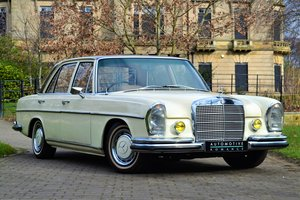 1970 W108 Mercedes-Benz 280SE 2.8 Saloon For Sale