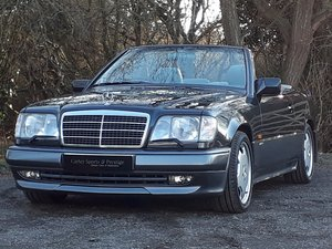 1995 VERY SPECIAL MERCEDES E320 AMG SPORTLINE  SOLD
