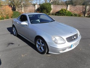 **REMAINS AVAILABLE** 2000 Mercedes SLK320 SOLD by Auction