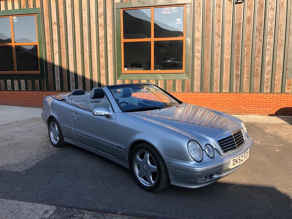 2002 Mercedes-Benz CLK 320 V6. Superb inside and out SOLD (picture 2 of 6)