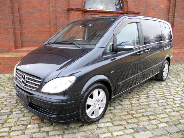 2007 MERCEDES-BENZ VIANO V350 3.7 TWIN POWER DOORS * FRESH IMPORT For Sale (picture 1 of 6)