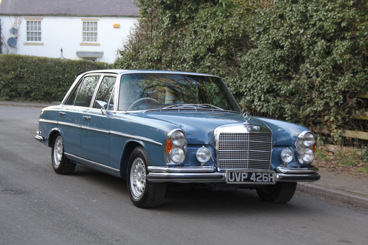 1970 Mercedes Benz 300SEL 6.3 - Low Mileage of 70,000 Recorded SOLD (picture 1 of 12)