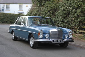 1970 Mercedes Benz 300SEL 6.3 - Low Mileage of 70,000 Recorded