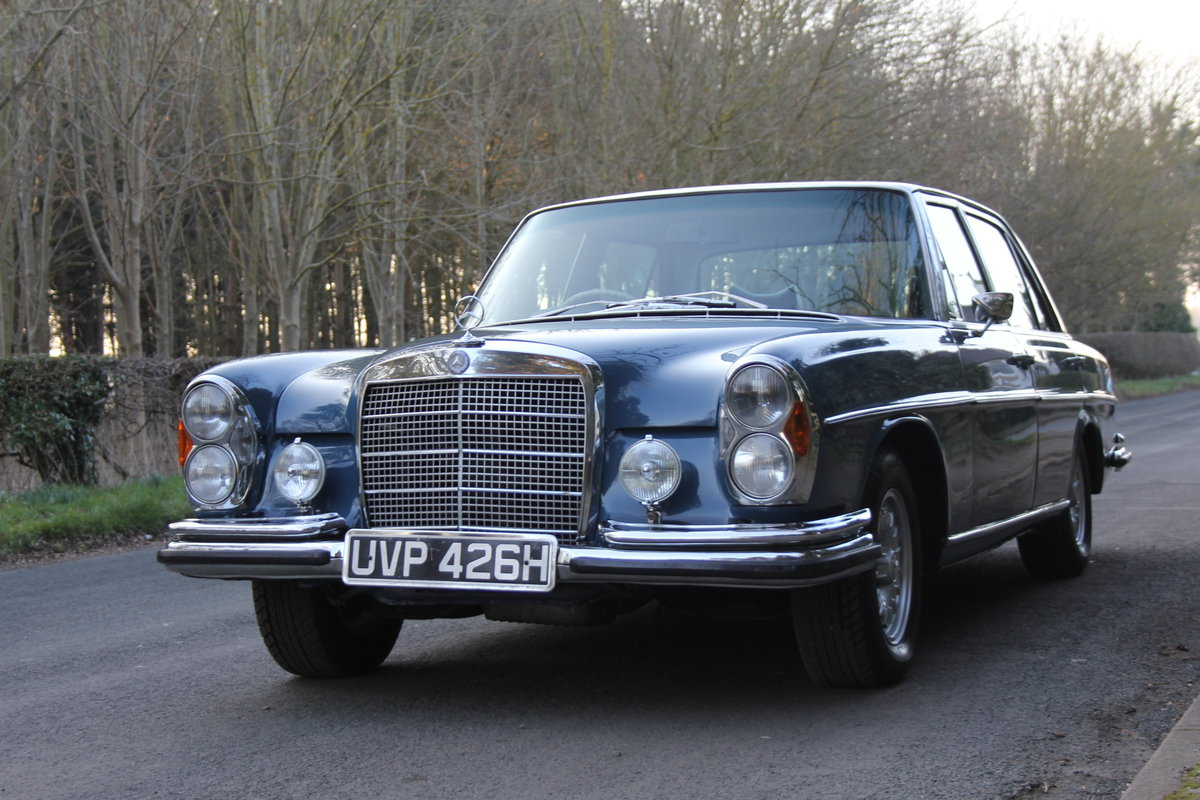 1970 Mercedes Benz 300SEL 6.3 - Low Mileage of 70,000 Recorded SOLD (picture 2 of 12)