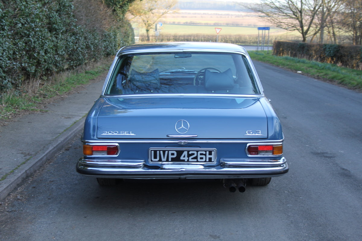 1970 Mercedes Benz 300SEL 6.3 - Low Mileage of 70,000 Recorded SOLD (picture 4 of 12)